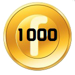 1K FanCoins Badge