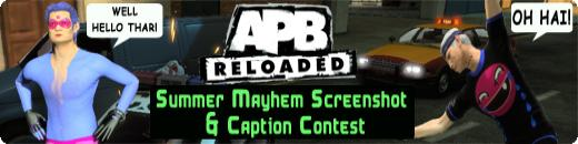 APB Reloaded Summer Mayhem Screenshot &amp; Caption Contest